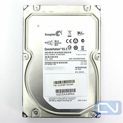 """Seagate Constellation ST33000650SS 3TB 7.2K 64MB SAS 6.0Gb/s 3.5"""" Grown Defects"""