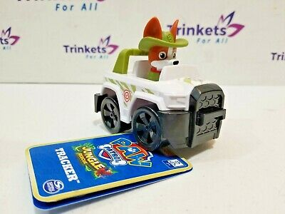 Paw Patrol Jungle Rescue Tracker Racer with Tag