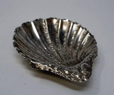 Sterling Silver Sheffield Shell Dish