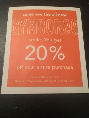 gymboree coupon 2019 december