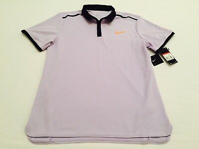 """ROGER FEDERER"" POLO OFICIAL NIKE RF ADVANTAGE TENIS 2017 - size: L."