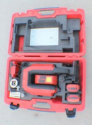 HILTI PLT 300 Position in Layout Laser System w/2 Batteries,Charger, Accessories