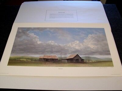 Ward Nichols Signed/Numbered Limited Edition Print Testimonial Unframed