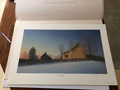 Ward Nichols Signed/Numbered Limited Edition Print Winter Glow