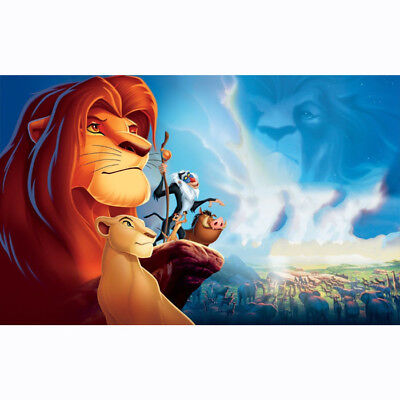"""HD Canvas Painted Oil Painting Wall  decor Disney The lion king 10""""x16"""""""
