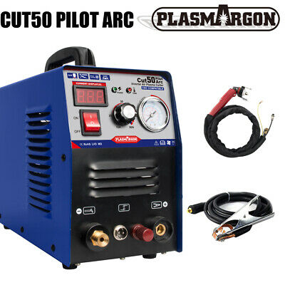 CUT50 50A Air Plasma Cutter Machine Pilot Arc CNC Compatible WSD60p Torches 230V