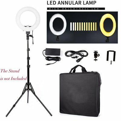 "12"" 240Pcs LED Ring Light Dimmable 6200K for SmartPhone/Camera Makeup Youtube US"