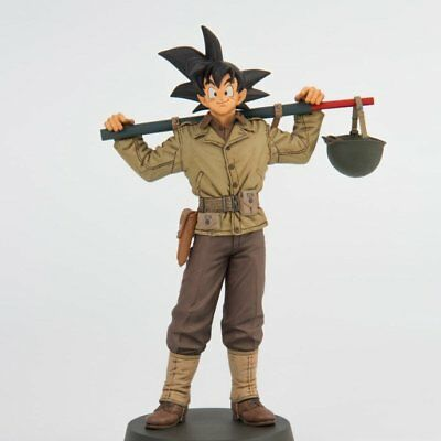 Banpresto Cartoon Anime Dragon Ball Goku Military Uniform PVC Statue HCA01