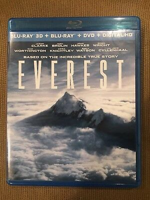 Everest Blu Ray Only (NO Digital, DVD Or 3D)