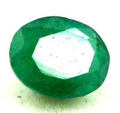 GGL Certified 4.65 Ct Natural Emerald Exquisite Looking Oval Cut Gemstone