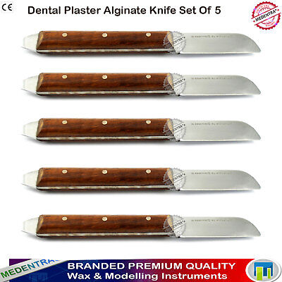 Dental Plaster Aliginate Wax Mixing Knives Model Making Crafts Cutting Knife Set