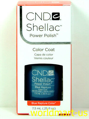 CND Shellac GelColor UV/LED: #09953_Blue Rapture 0.25fl.Oz