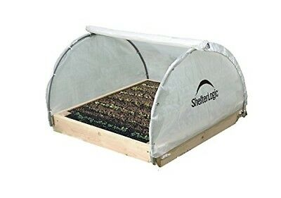 ShelterLogic GrowIT Round Raised Bed Greenhouse, 4 x 4 x 2 ft.