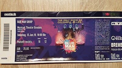 Blue Man Group Ticket Bremen