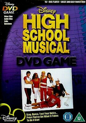 (DISC ONLY) High School Musical DVD Game Interactive