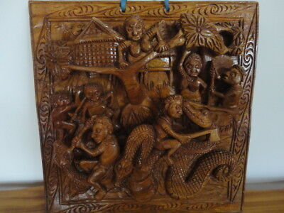 Sepik District Of New Guinea Unusual  Carving