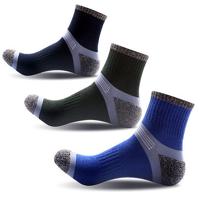 New 1pair Men Hiking Sock Adults Casual Outdoor Athletic Short Socks Cotton 2019