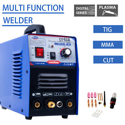 CT312 3IN1 TIG/MMA/CUT Plasma Cutter Welding Machine DC 230V Metalworking DIY