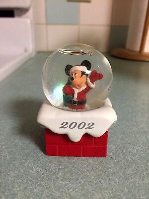 J C Penney Collectible 2002 Disney Snow Globe-New in Original Packaging