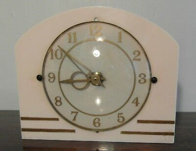 An Electric 1950's Clock - 'Clyde' - Made in Scotland