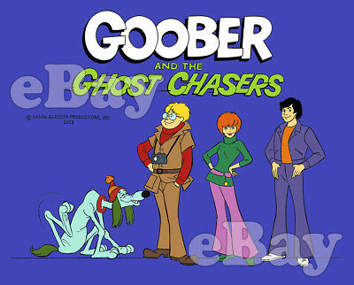 Rare! GOOBER AND THE GHOST CHASERS Cartoon Color TV Photo HANNA BARBERA Studios