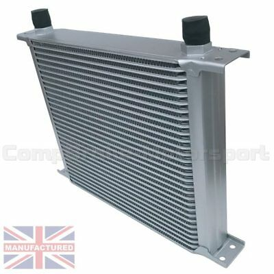 Universal 30 Row An10 An-10 10An Engine Transmission Oil Cooler [Radiator]Silver