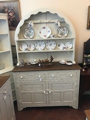 Vintage Welsh Dresser Shabby Chic - Delivery Available -  SC239