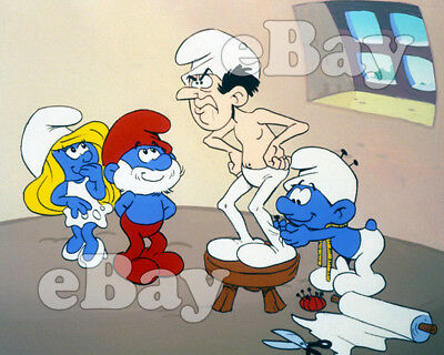Rare! THE SMURFS Cartoon Color TV Photo HANNA BARBERA Studios GARGAMEL