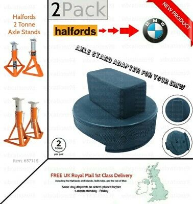BMW 1 2 3 4 5 X Series Axle Stand Pad rubber chassis protection pad Car Halfords