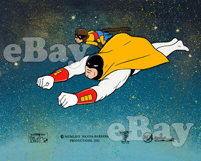 Rare! SPACE GHOST Cartoon Color TV Photo HANNA BARBERA Studios END TITLE CARD