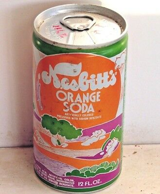 Nesbitt's Orange; Admiral Beverage Corporation; Worland, WY; Soda Pop Can