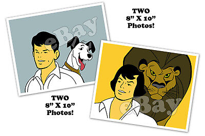 Rare! Set of 2! YOUNG SAMSON & GOLIATH Cartoon TV Photos HANNA BARBERA Studios