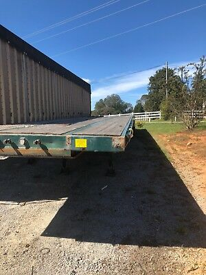 Flatbed Fontaine  53 trailer