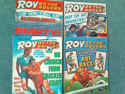 Roy of the rovers comics 1987