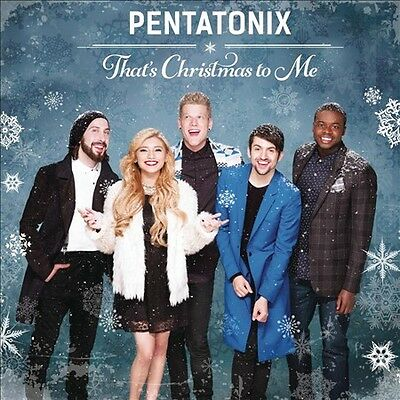 That's Christmas to Me by Pentatonix (CD, Oct-2014, Epic) NEW