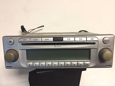 04-08 chrysler crossfire factory stereo am fm radio mp3 cd player 1938200486