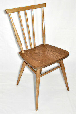 Vintage retro 60's Ercol ercol windsor stick back all purpose chair (mdl 391)
