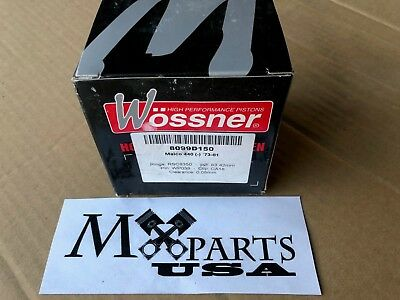 NEW Maico MC AW Magnum 440 450 Wossner Piston Kit 83.42 mm +1.50 mm
