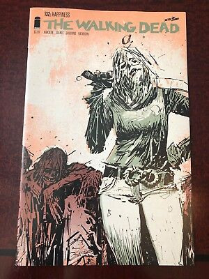THE WALKING DEAD #132 15th Anniversary - Color Variant / 2018 Image Comics