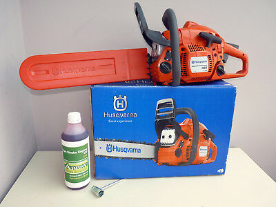 HUSQVARNA 435 Chainsaw, 15in bar and chain. As purchased! Christmas Present?