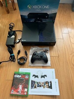 Microsoft Xbox One 1TB Black Console Great Condition + GOLD + GAME PASS + NBA2k