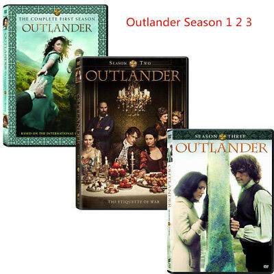 Outlander Season Series 1-3 1,2,3, (DVD, 2017,14-Disc  Box Set) Bundle 123