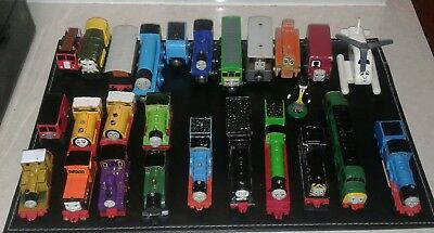Wooden And Metal Thomas The Tank Engine Trains × 26 Pieces