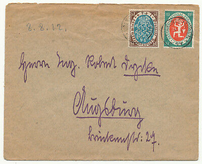 Germany Reich The National Assembly Nationalversammlung # 108, 109 Cover (1920)