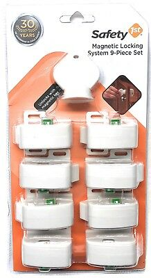 Safety 1st Magnetic Locking System, 1 Key and 8 Locks, 9-Piece Set, # HS133