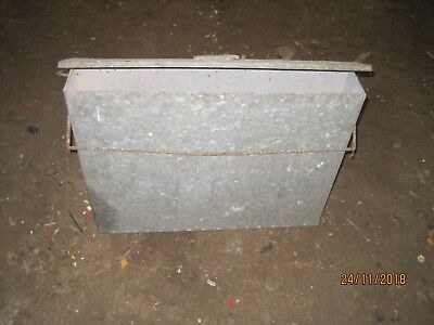 Ash Carrier Galvanised Metal Hot Tidy Container Fireplace Pan Bucket Bin box