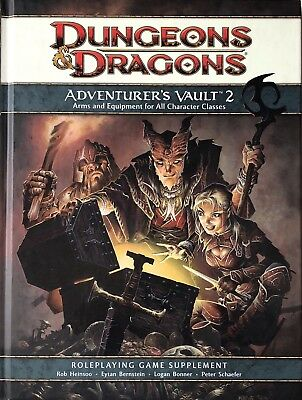 Dungeons & Dragons 4th Edition - Adventurers Vault 2