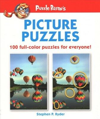 Puzzle Baron's Picture Puzzles : 100 All-Color Puzzles for Everyone!, Paperba...