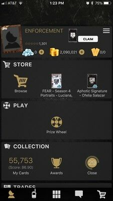 Entire Walking Dead Card Trader Collection (over 55k Cards)