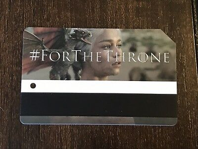 HBO New Metrocard  Game Of Thrones Exp 2020. New  Metro Card For The Throne